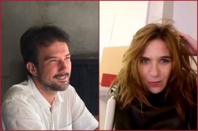 Jean Tible e Ana Kiffer