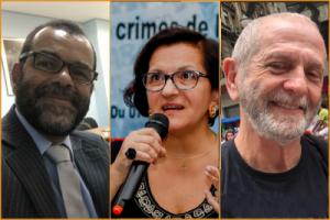 Eduardo Dias Ferreira, Kenarik Boujikian e Celso Curi